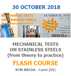 MECHANICAL TESTS ON STAINLESS STEELS (from theory to practice)