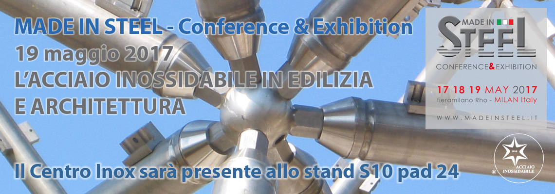 MADE IN STEEL - Conference & Exhibition