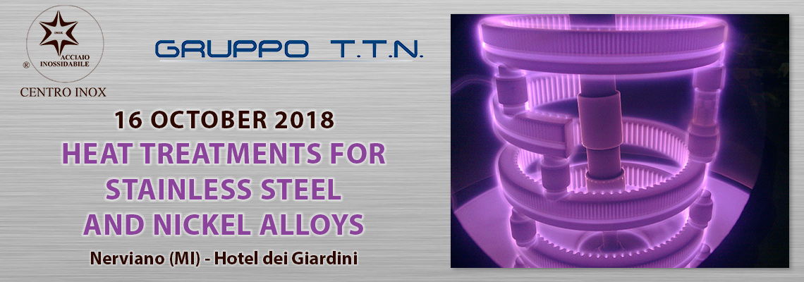 HEAT TREATMENTS FOR STAINLESS STEEL AND NICKEL ALLOYS