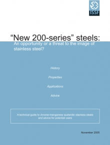 """New 200-series"" stainless steels"